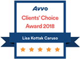 Avvo Clients' Choice Award 2018, Lisa Korrak Caruso