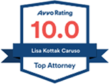 Avvo Rating 10.0, Lisa Korrak Caruso - Top Attorney