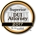 Superior DUI Attorney, 2017 by the nafdd